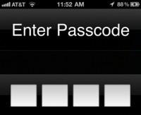 iPhone-Password