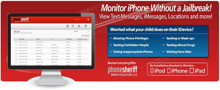 Free Iphone  Spy App No Jailbreak